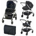 bebe-confort-set 3 in 1 streety plus total black
